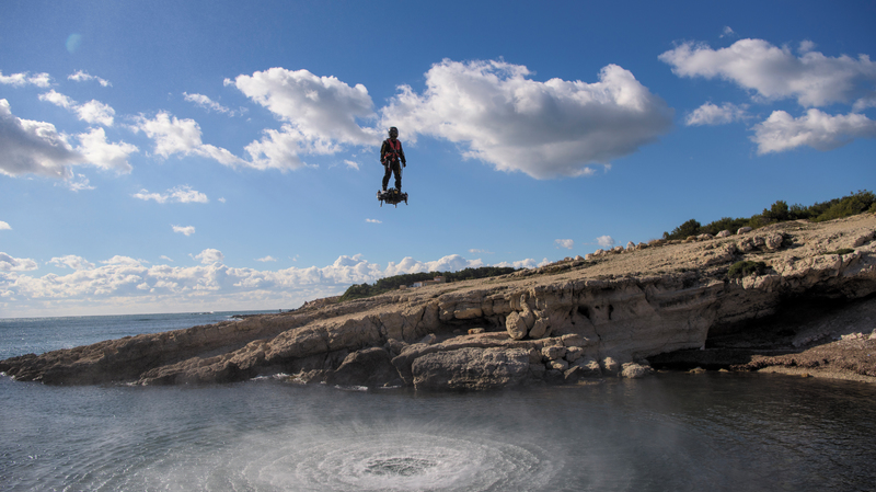 Breitling takes to the skies with Franky Zapata on Flyboard<sup>®</sup> Air