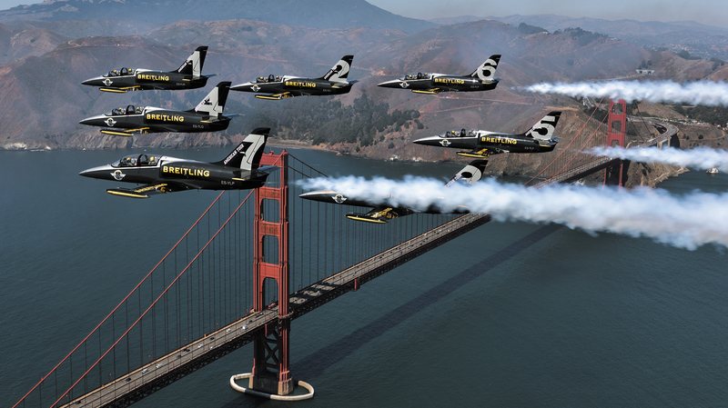 The Breitling Jet Team conquers America