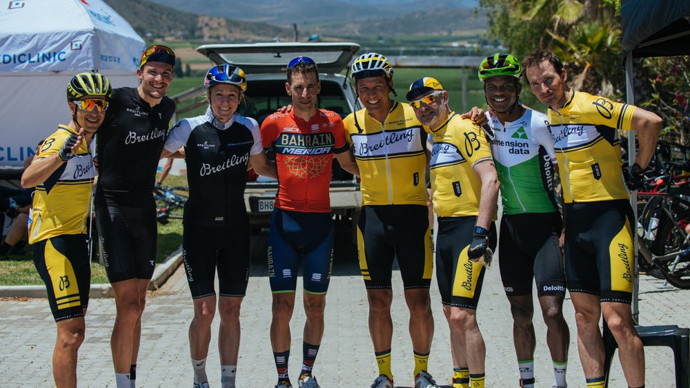 MISSION ACCOMPLISHED: BREITLING TRIATHLON SQUAD AND FRIENDS SUPPORT QHUBEKA AT THE CORONATION DOUBLE CENTURY