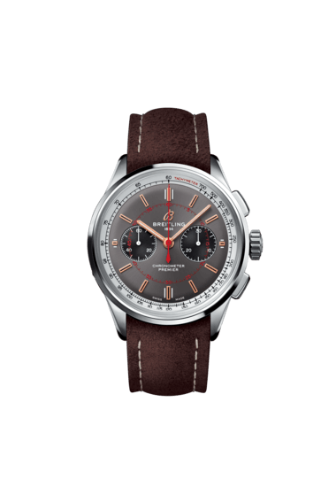 Premier B01 Chronograph 42 Wheels and Waves Limited Edition - AB0118A31B1X2