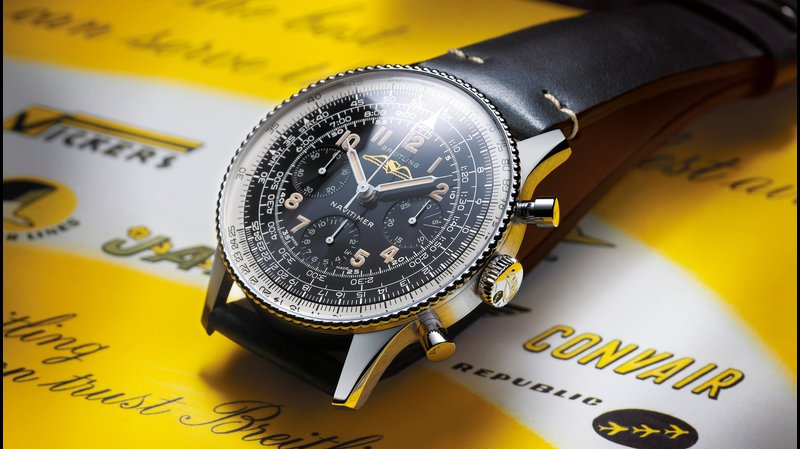 The Breitling Navitimer Ref. 806 1959 Re-Edition