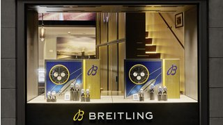 THE BREITLING BOUTIQUE'S SPECTACULAR LANDING IN ZURICH