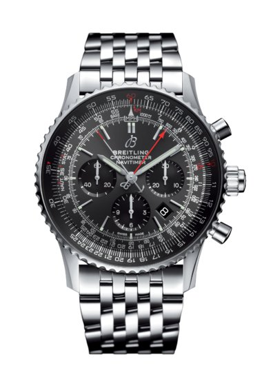 Navitimer 1 B03 Chronograph Rattrapante 45 Stratos Grey Boutique Edition - AB03102A1F1A1